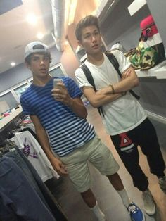 Carter Reynolds and Hayes Grier