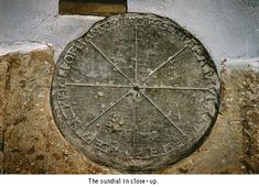 very old sundial!!