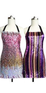Because everyone needs a sequin apron