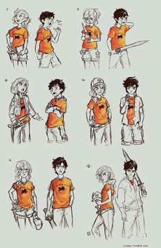 Percy Jackson and Annabeth Chase Percabeth Memes Percy Jackson, Percy Jackson Fanart, Arte Percy Jackson, Dibujos Percy Jackson, Percy Jackson Characters, Percy Jackson Books, Percy Jackson Drawings, Percy Jackson Fan Art Funny, Percy Jackson Annabeth Chase