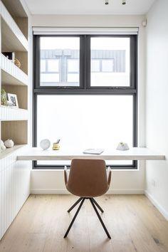 Small Study, Cabinet Makers, Reading Room, Joinery, Open Shelving, Bookshelves, Office Desk, Corner Desk, Panelling