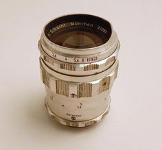 Vintage A. Schacht Munchen 33085 Travenar 1:2,8/85 Germany Camera Lens for Parts #ASchachtMunchenTravenar