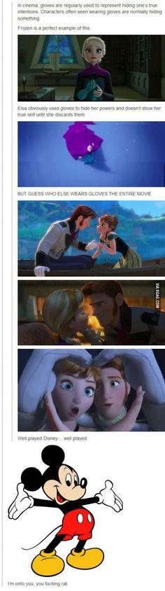 Disney Glove Conspiracy
