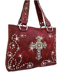 My bling cross purse