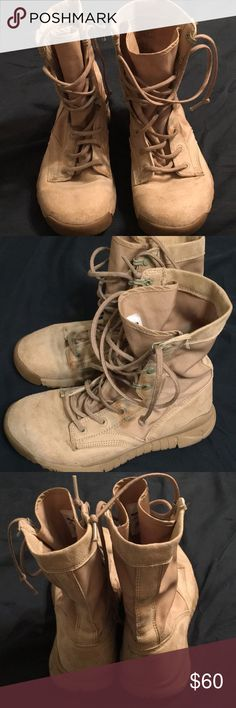 new arrival ea9f8 f9599 Nike SFB Special field boots tactical tan sz 5.5 Lightly used look great Nike  SFB Special