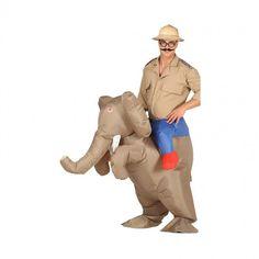 Déguisement Porte Moi Éléphant Gonflable #deguisementsadultes #PorteMoi #CarryMe