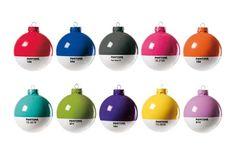 Pantone ornaments!