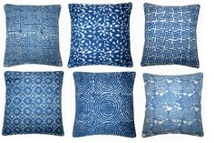 Wholesale Lot Set Of Kilim Cushion Cover Jute Pillow Vintage Throw Kilim Cushions, Throw Pillows, Blue Cushion Covers, Indigo Blue, Art Deco Fashion, Jute, Hand Weaving, Boho, Cotton