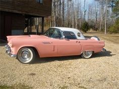 Nice Cars girly 2017: 1956 Ford Thunderbird -- Girly, girl car!!!...  Dream Cars Check more at http://autoboard.pro/2017/2017/04/03/cars-girly-2017-1956-ford-thunderbird-girly-girl-car-dream-cars/
