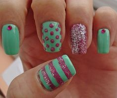 Find another beautiful images Easy Cute Nail Design Ideas at http://nail2014.com