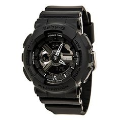 Casio Womens BA110BC1ACR Baby G AnalogDigital Display Quartz Black Watch * Continue to the product at the image link.Note:It is affiliate link to Amazon.
