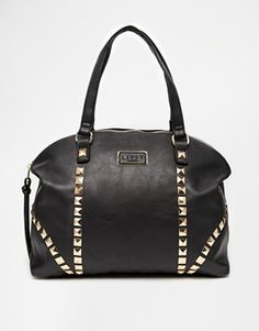 Lipsy+Pyramid+Stud+Shoulder+Bag