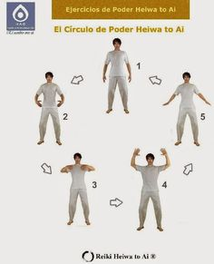 Reiki Heiwa to Ai ® (HAR): El Círculo de Poder - Ejercicios estáticos de Chi ...