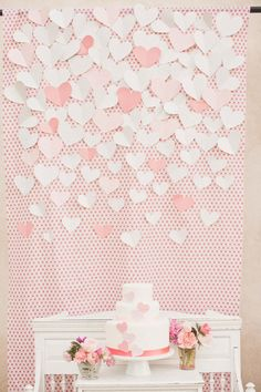 this would be super cute in different colors too.  a collage of hearts basically.  i hope you realize we are going to be crafting a lot!