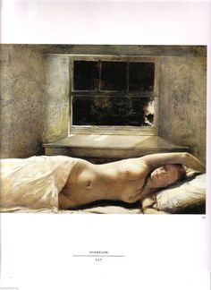 PRINT Art Andrew WYETH Helga Sleeping in the Nude by Tasteliberty, $20.00