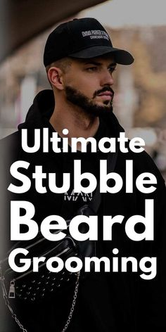 Stubble is a good beard style for any man, any face shape, for any occasion. It adds some maturity to guy's youthful face. Stubble beard for men in 2019!
