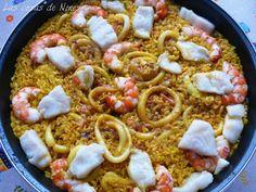 Las cosas de Nines: ARROZ DEL SEÑORITO ( Arròs del senyoret, Seafood P...