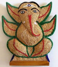 Festivals of India: Vinayaka Chaturthi is also known as Varad Vinayaka. Ganesha Painting, Ganesha Art, Lord Ganesha, Jai Ganesh, Shree Ganesh, Good Morning Images, Festival Paint, Shri Ganesh Images, Birthday Wishes Flowers