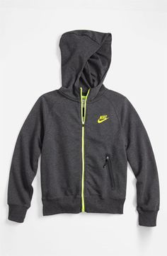 ba0a413c6d2e Nike Full Zip Hoodie (Big Boys) available at Nordstrom Full Zip Hoodie