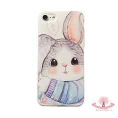 Mori Girl Dress Iphone6&7 Case on Mori Girl の森ガール.Cute Cartoon Rabbit Iphone6&7 Case Relief Tpu Thin Mg441 Use strong metallic, feel comfortable, perfect metallic luster. Shaped into an organic whole to achieve both top piece, has perfect appearance, and has strong ability to protect