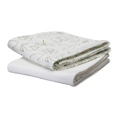 IKEA VANDRING muslin square Nice and soft against a baby's skin. Easy to machine wash.