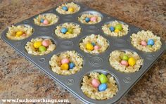 Rice Krispie Treat Bird Nests are an Easter favorite in our house. I shared this recipe last year and so many people loved it that I had to post it again! This is a great treat to make with kids, especially over spring break.(For the full tutorial, click here). Ingredients 3 Tbsp. butter 5 1/2 …