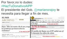 Rajoy te necesita.  #Rajoy #incompetente #inepto #corrupto #corrupcion #presidente #marioneta #titere #PP #España #MarcaEspana #MarcaEspaña #Spain