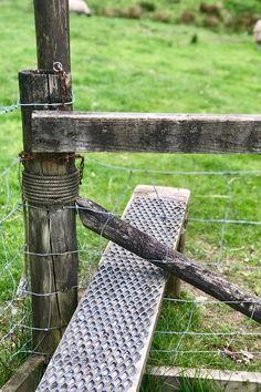 A simple stile in Cumbria