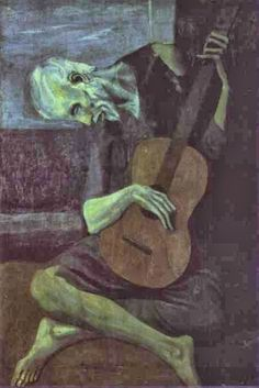 Pablo Picasso The Old Guitarist painting for sale, this painting is available as handmade reproduction. Shop for Pablo Picasso The Old Guitarist painting and frame at a discount of off. Pablo Picasso Artwork, Art Picasso, Picasso Blue, Picasso Paintings, Old Famous Paintings, Picasso Prints, Picasso Style, Artwork Paintings, Popular Paintings
