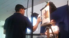 Portrait Demonstration at The Old Greenwich CIvic Center
