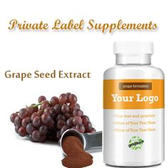 Grape Seed Extract as Private Label Supplement