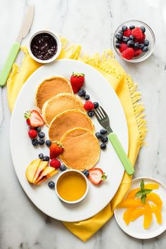 Cottage Cheese Pancakes from weelicious.com