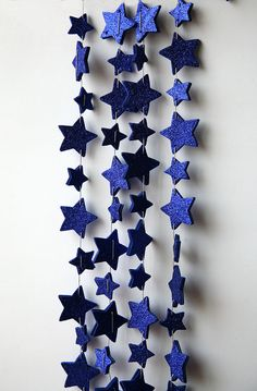 Star garland Outer Space party garland by TransparentEsDecor, $14.00