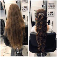Még ilyenkor is vannak ám szép alkotások, hiába vége a nyárnak! :) Nektek is tetszik ez a konty?  #instafashion #beautysalon #hairstyle #hairstyles #hairs #hairsalons #hairbunmaker #hair #prilaga #hairfashion #hairbuns #hairsalon #hairdresser #hairbun #hairofinstagram #hairoftheday #konty #menyasszony #kiengedettkonty#magdiszepsegszalon Dreadlocks, Long Hair Styles, Beauty, Long Hairstyle, Long Haircuts, Dreads, Long Hair Cuts, Beauty Illustration, Long Hairstyles
