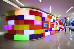 Admit it: you want to work in a Lego castle. Office Designs rates this workplace incredible/10.