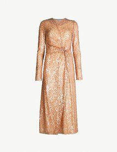 61a2e9c2b8bc GALVAN Gaillette sequinned midi dress