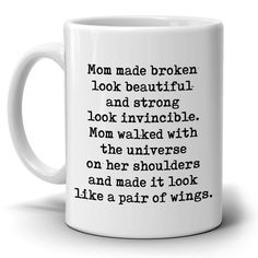 Perfect Gift for Mom from Daughter Coffee Mug, Unique Presents for Mothers Day, Birthday and Grandma Thank You Gifts, Printed on Both Sides #ChristmasDIYgifts gifts for moms | gifts for moms to buy | gifts for moms birthday from daughter | gifts for mother in law birthday | gifts for mother to buy | gifts for mothers day | gifts for mothers day to buy