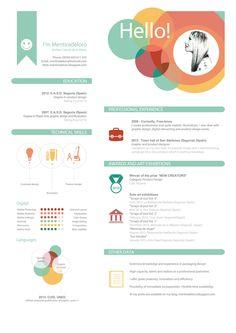 curriculum creativo - Buscar con Google