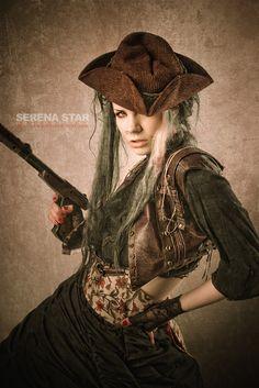 steampunk gypsy woman