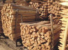 Robinienholz Weinbergpfähle Berg, Firewood, Crafts, Woodburning, Manualidades, Handmade Crafts, Craft, Arts And Crafts, Artesanato