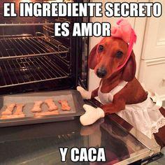 El ingrediente secreto es amor. #humor #risa #graciosas #chistosas #divertidas