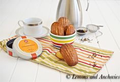 Honey Mango Madeleines @Jean | Lemons and Anchovies