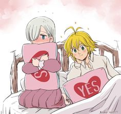 Seven Deadly Sins Anime, 7 Deadly Sins, Me Me Me Anime, Anime Love, Sir Meliodas, Anime Cupples, Meliodas And Elizabeth, 7 Sins, Anime Couples