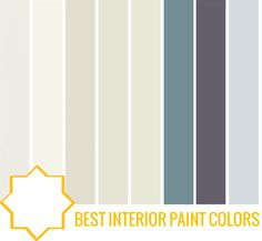 best interior paint colors: -farrow and ball pointing  -benjamin moore cloud white  -benjamin moore tapestry beige  -benjamin moore French Canvas  -benjamin moore cliffside grey  -benjamin moore philipsburg blue  -benjamin moore shadow  -Benjamin Moore Sterling