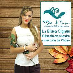 La Blusa Cignus Búscala en nuestra colección de Otoño http://www.mardeformas.com/es/212-blusa-cignus.html