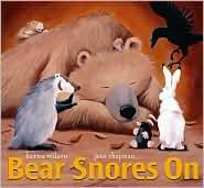 ABC and 123: Bear Snores On by Karma Wilson: a preschool literacy lesson