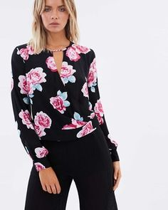Buy Infatuation Wrap Blouse by Atmos&Here online at THE ICONIC. Free and fast delivery to Australia and New Zealand.