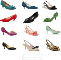 Great shoes for women over 40.... YEA!!! Kitten Heels that are super cute!!!