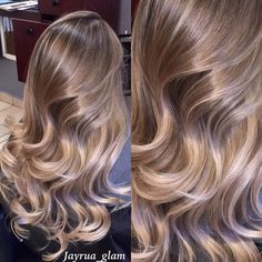 Can't get over this ombré/balayage I did well blended from roots to ends no brass super healthy hair !!! do you love?? by jayrua_glam