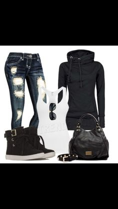 Comfortable outfit for winter! JS